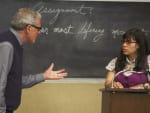Professors Pushes Betty