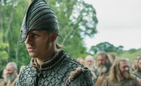 Ivar in Armor - Vikings Season 5 Episode 1