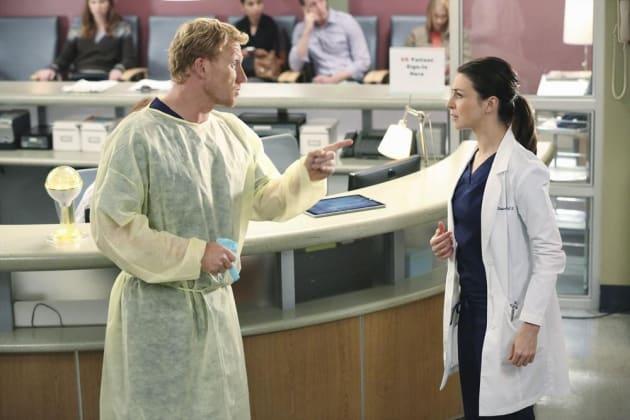 Owen vs. Amelia - Grey's Anatomy Season 11 Episode 7
