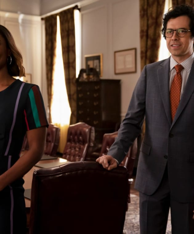 Matt and Daisy - Madam Secretary Season 5 Episode 20