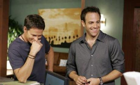 Cooper and Pete Laugh