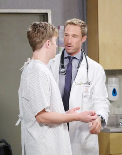 Rex Delivers Bad News  - Days of Our Lives