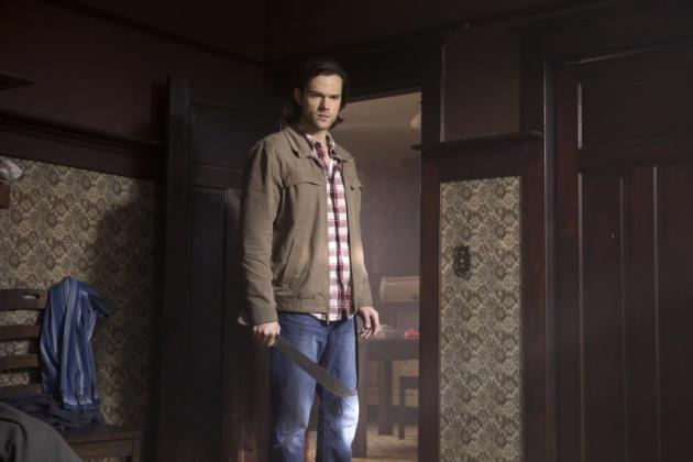 Sam Searching the Vampire Nest