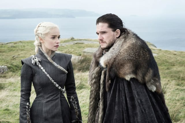 Jon and Daenerys - Game of Thrones