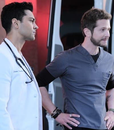 Brotherhood - Tall - The Resident Season 4 Episode 2