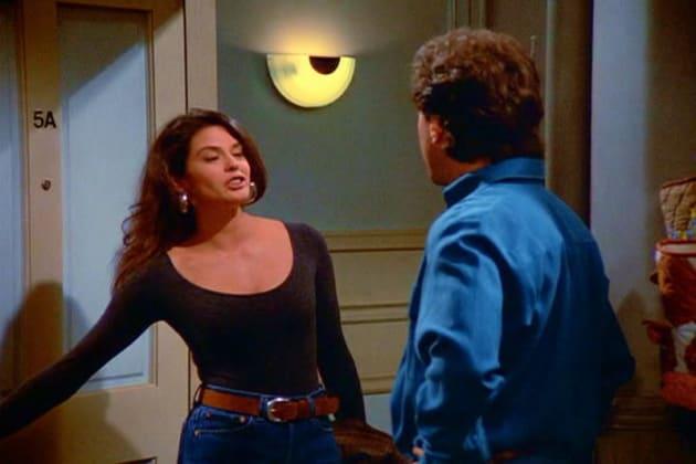 Teri Hatcher on Seinfeld