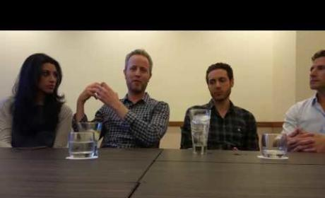 Royal Pains Interview - A Living Room Show