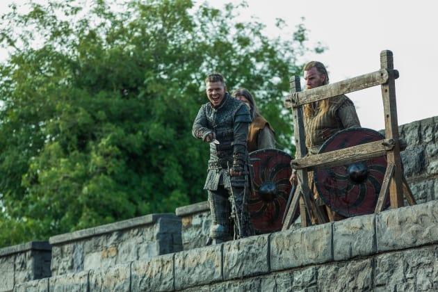 Ivar Laughs - Vikings Season 5 Episode 5