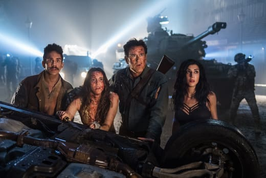 The Mettle of Man - Ash vs Evil Dead Season 3 Episode 10