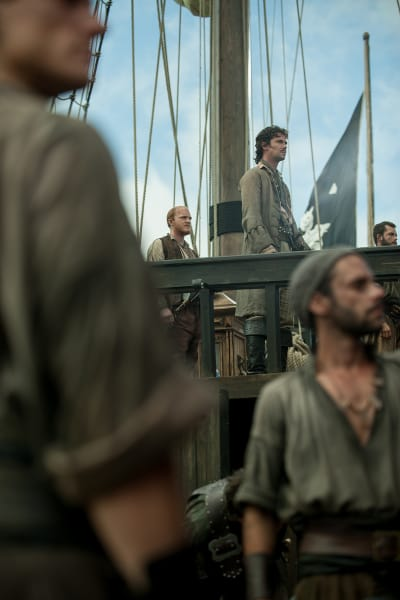 Jack Rackham and Ellers - Black Sails Season 4 Episode 3
