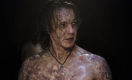 Lucifer is looking a little rough - Supernatural Season 12 Episode 7