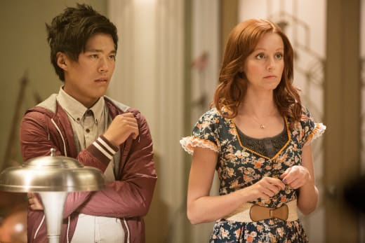 Alien Invastion - The Librarians