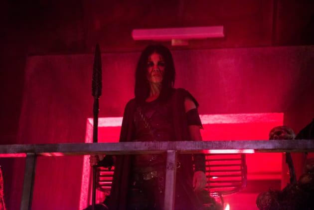Octavia Rises Once Again - The 100 Season 5 Episode 10