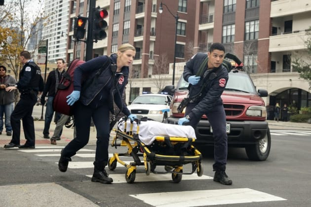 Brett and Mills to the Rescue - Chicago Fire Season 3