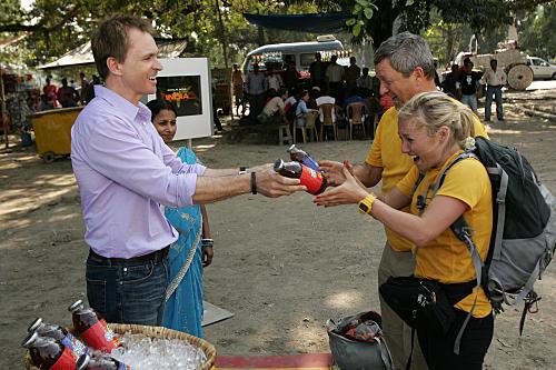 Gary and Mallory Win Iced Tea
