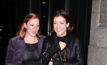Kate Walsh: Out, About and Smiling