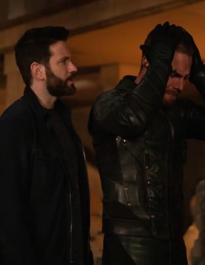The Return of the BFF (Tall)  - Arrow Season 7 Episode 21