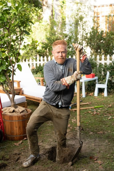 Mitch Trying to Garden - Modern Family Season 10 Episode 9