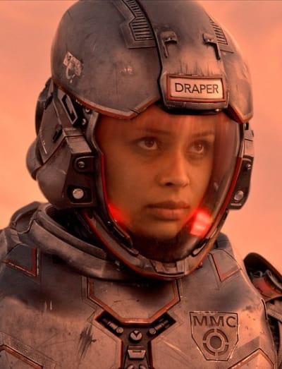 Draper - The Expanse Season 2 Episode 1
