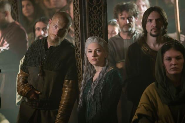 Bjorn and Lagertha - Vikings Season 5 Episode 14
