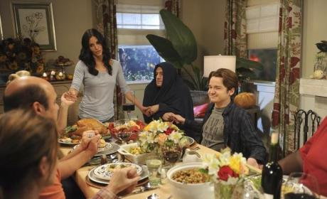 A Cougar Town Thanksgiving