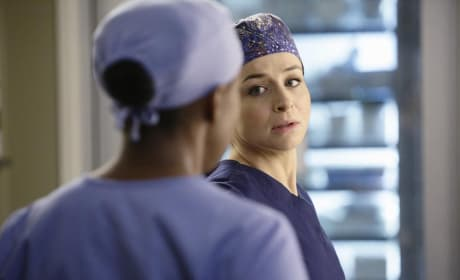 Amelia on Grey's Anatomy