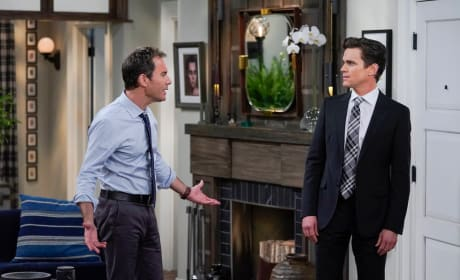 The Man Behind the Newsman - Will & Grace
