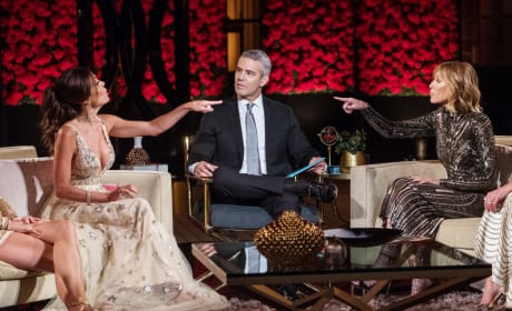 Pointing Fingers - The Real Housewives of New York City
