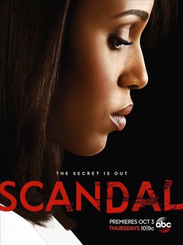 Scandal Season 3 Poster