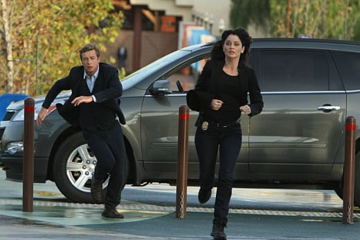 Jane & Lisbon On The Run