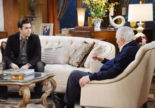 Sonny Drops In On Victor - Days of Our Lives
