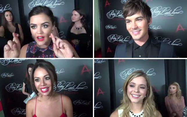 Lucy hale and ian harding interview