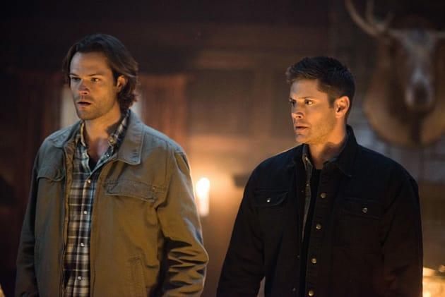 Sam and Dean are in shock - Supernatural Season 12 Episode 6