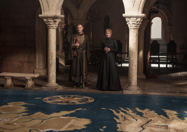 Plotting - Game of Thrones Season 7 Episode 4