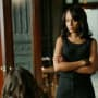 Olivia Looks Worried - Scandal Season 4 Episode 22