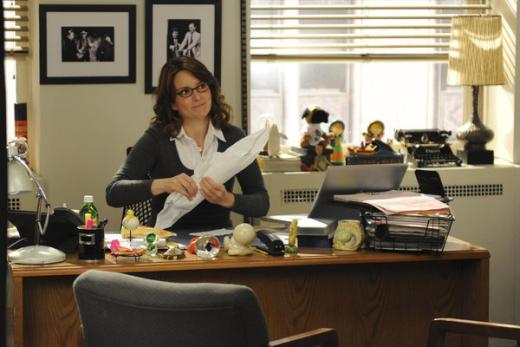 Liz Lemon  at Her Desk