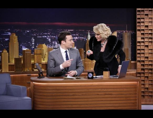 Joan Rivers on The Tonight Show