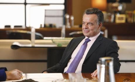 Ray Wise on Castle