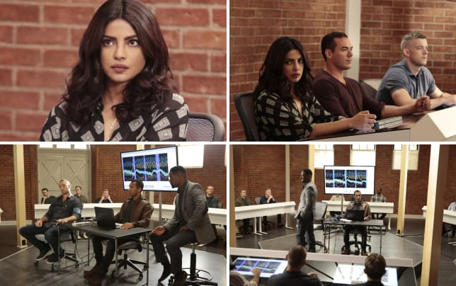 Settling into a new career quantico s2e1