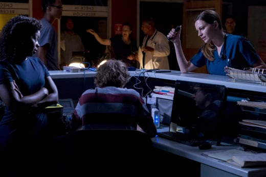 Power's Out - The Night Shift Season 4 Episode 8