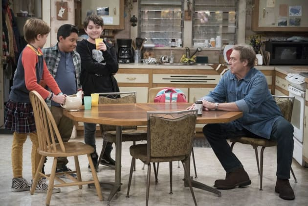 Mark's Friends - The Conners Season 1 Episode 1