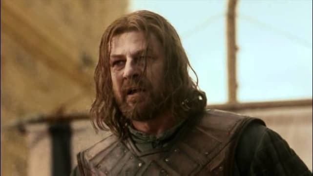 Ned Stark's Execution - Game Of Thrones