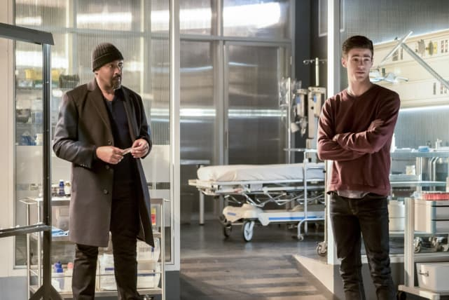 Time for Plan B - The Flash Season 3 Episode 23