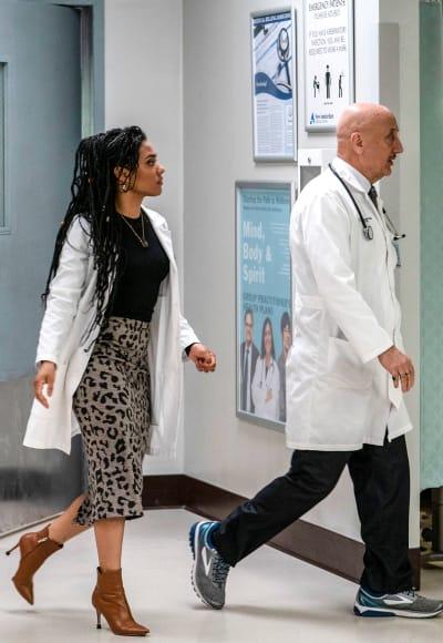 Helen and Kapoor Round II - Tall - New Amsterdam Season 1 Episode 20
