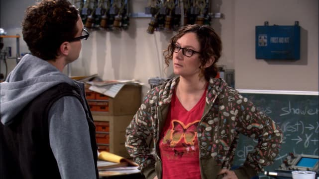 Roseanne Comes to The Big Bang Theory