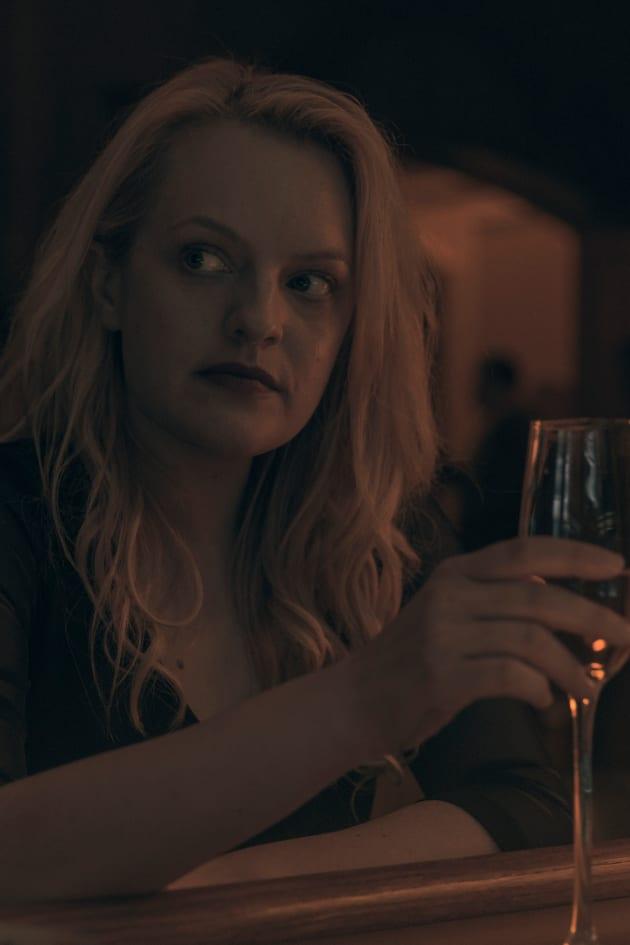 June Is Drinking Wine in Gilead - The Handmaid's Tale Season 3 Episode 11