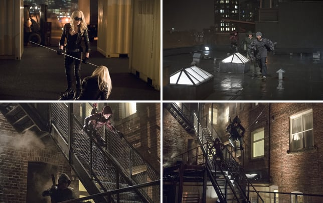 Canaries together for the first time arrow s3e13