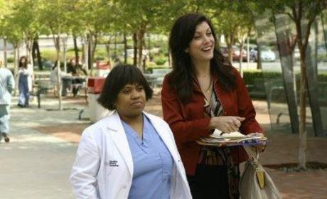 Addison Shepherd and Miranda Bailey