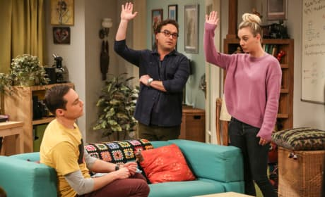 Tenant's Association Elections - The Big Bang Theory