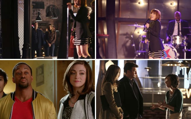 Castle and beckett look on